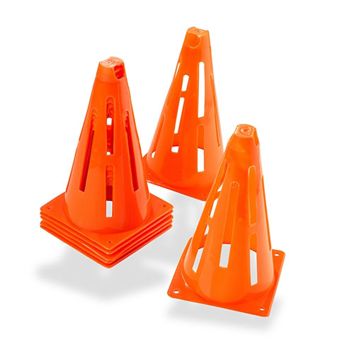 Collapsible Slit Cones