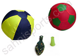 Cloth Ball with Balloon
