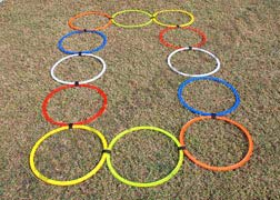 Speed Ring Agility Ladder Eco